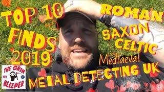 MY BEST YEAR METAL DETECTING UK 2019 TOP 10. GOLD & SILVER