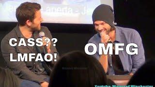 Jared Padalecki Accidentally Calls Misha Collins 'Cass' & Jensen Almost Calls Jared 'Sam'