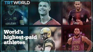 The world's highest-paid athletes