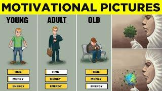 Top 50 Motivational Pictures with Deep Meaning | One Picture Million Words Motivation Part 21