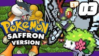Pokemon Saffron GBA rom hack Part 3 NEW POKEMON FORMS - GALARIAN POKEMON! Gameplay Walkthrough