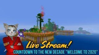 Minecraft Survival Island - Countdown To The New Year & New Decade! (Minecraft Survival Live Stream)