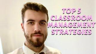 Top 5 Classroom Management Strategies - How To Become A Primary School Teacher - Mr W Teaching