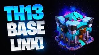 TH13 Base Link - War/Trophy/Farming Base Layouts | Top Town Hall 13 Base | Clash of Clans