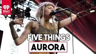 "Aurora Talks 5 Things About Herself & New Song ""Exist For Love"" 