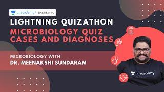 Lightning Quizathon | Microbiology Quiz Cases and Diagnoses | Dr. Meenalshi Sundaram
