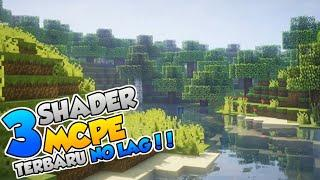Top 3 Shaders MCPE No Lag Ram 1GB-2GB | Support MCPE 1.13/1.12/1.14/1.15/1.16 [Android,IOS,And Windo