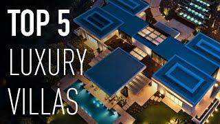 Top 5 MOST INCREDIBLE Luxury Modern Villas in Marbella | Drumelia Real Estate