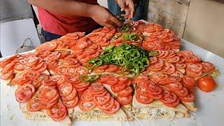 Mega Bulk Sandwich Making | Mumbai Special Cheese Grill | Indian Street Food