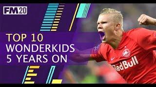 Top 10 Wonderkids 5 years on FM20 - 10 amazing wonderkids in football manager 2020, 5 years on