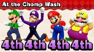Mario Party: The Top 100 MiniGames Luigi Vs Waluigi Vs Wario Vs Mario (Master Difficulty)