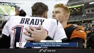 Patriots, Two Other NFL Teams Interested In Andy Dalton As Backup Plan