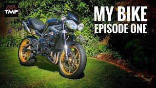 2012 Triumph Street Triple R Review - My Bike Part 1