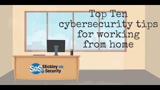 Top 10 Cyber Security Tip For Working From Home