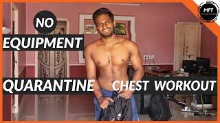4 BEST HOME CHEST Workout for this LOCKDOWN | QUARANTINE Workout PROGRAM | MFT