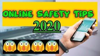 Top 10 Online Safety Tips 2020 | How to protect our information in online |