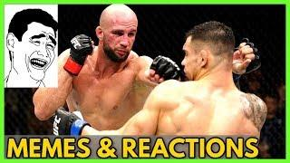 Volkan Oezdemir vs Aleksandar Rakic (MEMES & Reactions) at UFC Busan Korea
