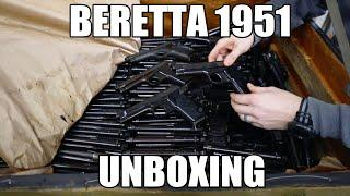 A Crate Of Beretta 1951 Pistols Just Came In