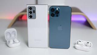 iPhone 12 Pro Max vs Note 20 Ultra 5G - Which Should You Choose?