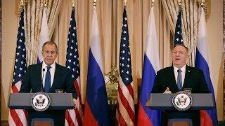 Arms control, Ukraine and Syria top discussions of Russia-U.S. talks