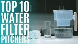 Top 10: Best Water Filter Pitchers of 2020 / Portable Water Filtration System for Drinking Water