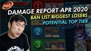 APR 2020 - TCG Ban List Damage Report! Potential Top tier List
