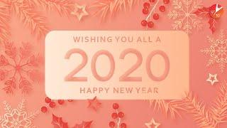 Happy New Year 2020 | New Year Wishes | BE YOU This New Year With @Vedantu Class 9 & 10
