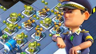 NEW WARSHIPS SEASON! BOOM BEACH SEASON 7 WARSHIPS!