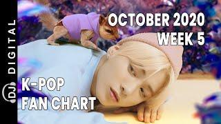 Top 50 K-Pop Songs Chart - October 2020 Week 5 Fan Chart