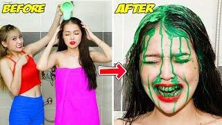 Girl DIY! 23 BEST FUNNY PRANKS ON FRIENDS | Funny DIY Pranks Compilation | Family Funny Pranks 2020
