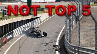 NOT TOP 5 Crashes - F1 2019 most embarrassing crashes