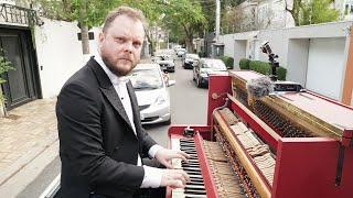 I Played Piano on the Street, on top of my car
