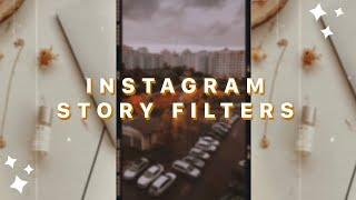 THE BEST VINTAGE/RETRO FILTERS FOR IG STORIES (dust/grain, VHS, 8mm)