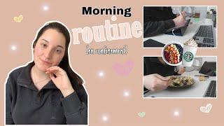 MORNING ROUTINE (en confinement)