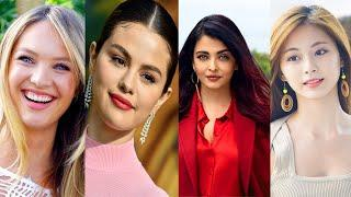 Top 10 Most Beautiful Womens In The World , Most Beautiful Girls Celebrtities    Y Dream