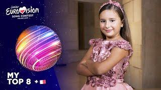 Junior Eurovision 2020 - Top 8 (So far) (NEW: