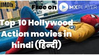 Top 10 Action Movies on MX Player | Best Hollywood Action Movies in Hindi [हिंदी] |2020