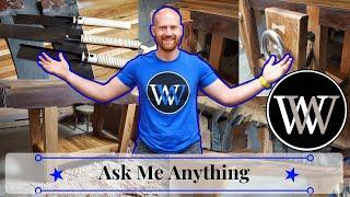 Ask Me Anything Dec. 2019 Hand Tool Woodworking Q&A
