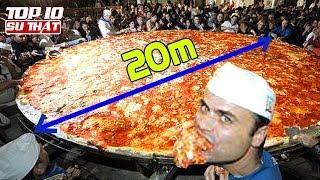 Chiếc Pizza Dài Nhất Thế Giới Và Top 10 Kỷ Lục Guinness Về Ẩm Thực ➤ Top 10 Sự Thật Thú Vị