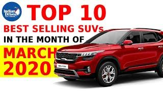 Top 10 Best Selling SUVs In The Month Of March 2020 In India