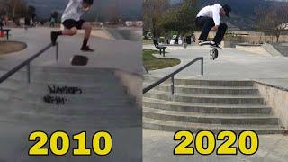 My 10 Year Kickflip Progression!