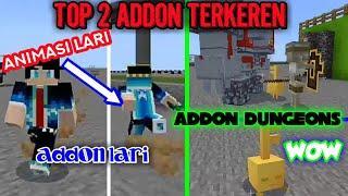 TOP 2 ADDON KEREN | ADDON DUNGEONS | ADDON ANIMASI LARI