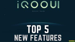iQOO UI Top 5 New Features | iQOO UI Based On Android 10 | Updates | Changes | Hidden Features | FHD