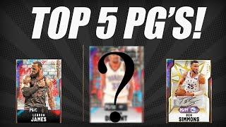 Top 5 Point Guards in NBA 2K20 MYTEAM!