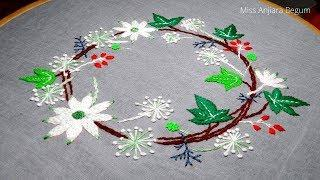 Attractive Hand Embroidery Sofa,Cushion,Pillow,Table cover,Secrets of Embroidery-20, #Miss_A