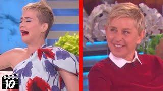 Top 10 Ellen Interviews That Destroyed A Celebrities Career