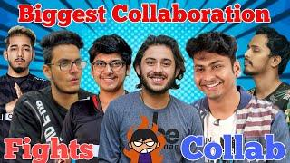 Top 5 Biggest Collaboration of Indian Streamers (Gamers) | Funny Streams Getting Angry On Camera