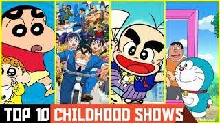 TOP 10 CHILDHOOD SHOWS    90s KIDS SHOW !!!
