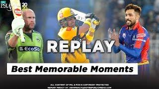 Some of the Best Memorable Moments of HBL PSL 5 So Far | HBL PSL 2020