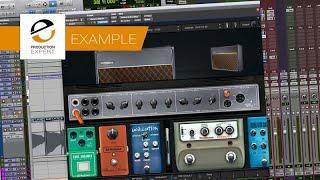 Example - Presonus Ampire Guitar Amp Plug-in In Pro Tools Covering Top Gun 2 Teaser Theme Tune